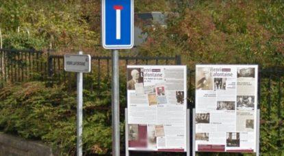 Panneaux Avenue Henri Lafontaine - Woluwe-Saint-Lambert - Google Street View