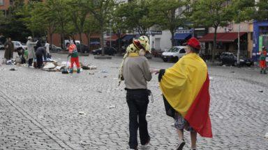 Bruxelles : l'abri anti-aérien situé sous la place du Jeu de Balle est définitivement classé