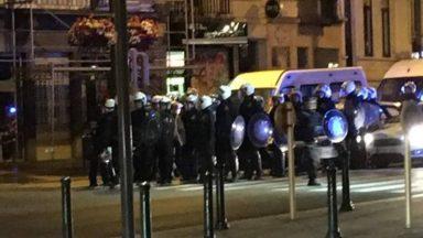 Échauffourées à Jette après France-Belgique : cinq personnes arrêtées, deux policiers blessés