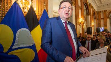 La Région bruxelloise souffle ses 30 bougies et lève son verre avec les ministres