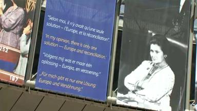 Ixelles : hommage à Simone Veil devant le Parlement européen
