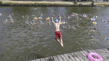 Pas de Big Jump dans le canal de Bruxelles cet été