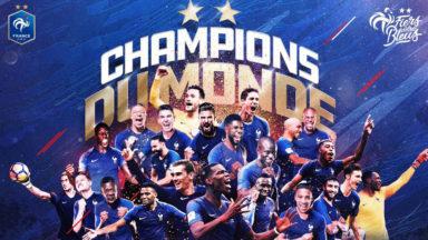 La France sacrée championne du monde après un 4-2 face à la Croatie
