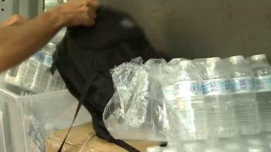 La campagne du Samusocial a permis de récolter 25.000 bouteilles d'eau