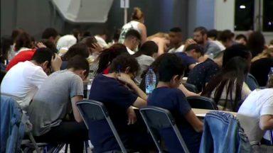 Plus de 3.000 candidats passent vendredi l'examen d'entrée en médecine et dentisterie au Heysel