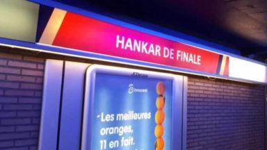 Coupe du monde: les stations Hankar et Belgica rendent hommage aux Diables rouges