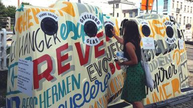 Etterbeek: la commune lance un appel pour décorer les bulles à verres de la place Jourdan