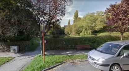 Étang Tercoigne Watermael-Boitsfort - Google Street View