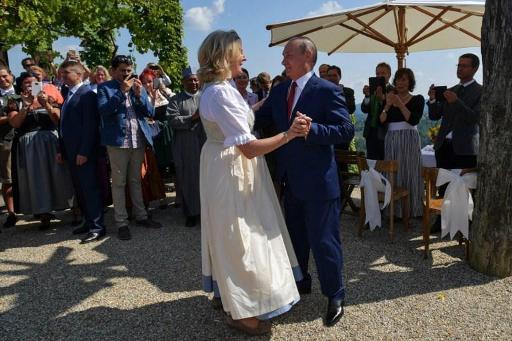 Polémique après la venue de Vladimir Poutine à un mariage — Autriche