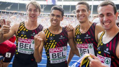 Championnats d'Europe d'athlétisme : les Belgian Tornados et les Belgian Cheetahs en finale du 4x400m