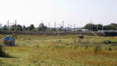 Haren : une personne gravement brûlée après un incendie dans une cabane sur le site de la future prison
