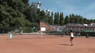 Le Brussels Open, un tournoi de tennis au pied de l'Atomium pour lancer les jeunes joueurs