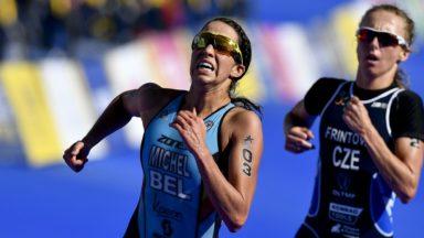 """Championnats d'Europe de triathlon : Claire Michel termine 5e mais aurait aimé """"monter sur le podium"""""""