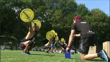 Belgian Throwdown: la plus grande compétition de crossfit belge rassemble 300 athlètes