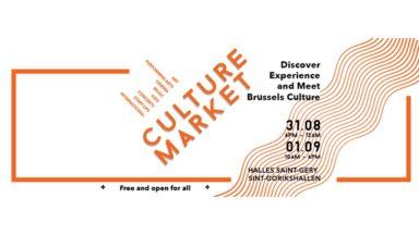 """Bruxelles fait sa rentrée culturelle dans le quartier Saint-Géry avec un """"Culture Market"""""""
