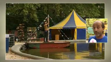 Le Festival Théâtres Nomades a posé ses chapiteaux au Parc de Bruxelles et offrira quatre jours de spectacles des arts de la rue