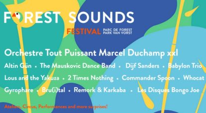 Forest Sounds Festival 2018 - Affiche