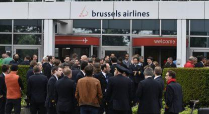 Grève Brussels Airlines Juin 2018 - Belga Eric Lalmand
