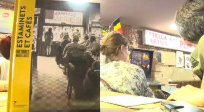Livre historique - Estaminets et cafés bruxellois - Belga