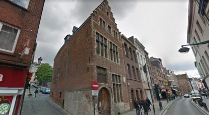 Maison Bruegel - Rue Haute Bruxelles - Google Street View