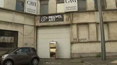 Molenbeek : Recyclart aménage ses nouveaux locaux, bientôt accessibles au public