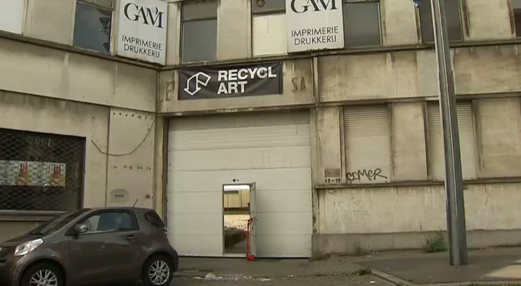 Nouveaux locaux Recyclart - Molenbeek