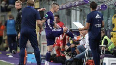 Football : le RSC Anderlecht refuse la proposition de sanction pour Vranjes