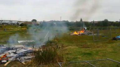 Haren : les opposants à la construction de la prison évacués du site du Keelbeek