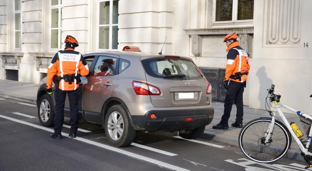 Policiers vélo - Zone police Bruxelles capital Ixelles - Police