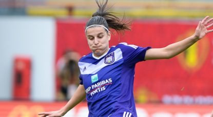 RSC Anderlecht Dames - Laura De Neve - Belga David Catry