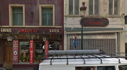 Restaurant Amadeus - Bruxelles Rue Sainte-Catherine - Google Street View