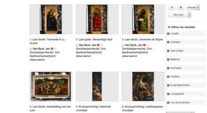 Sélection Oeuvres Françaises Institut Royal Patrimoine Artistique IRPASélection Oeuvres Françaises Institut Royal Patrimoine Artistique IRPA