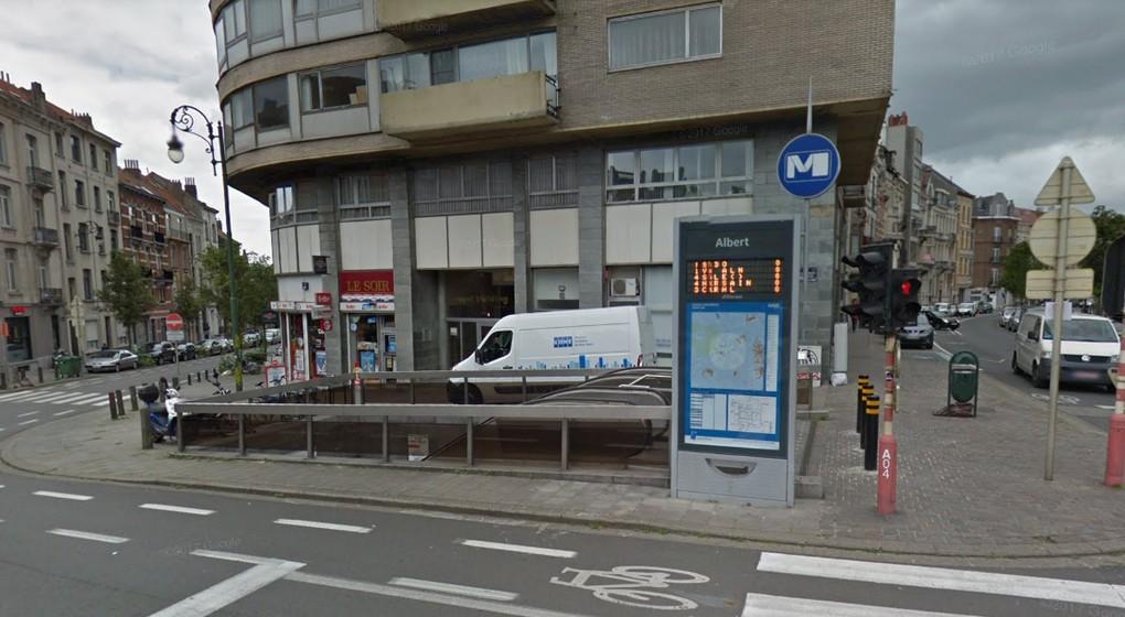 Station Prémétro Albert Forest - Google Street View