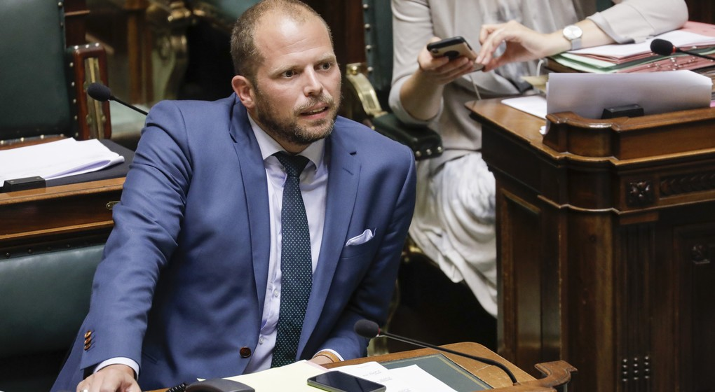 Theo Francken - Chambre - Belga Thierry Roge