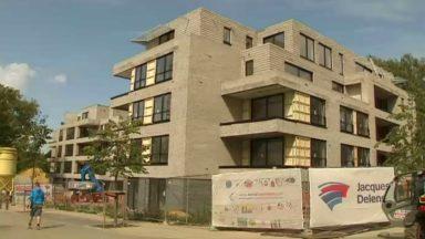 Uccle : les logements poussent par dizaines dans le quartier du Prince d'Orange