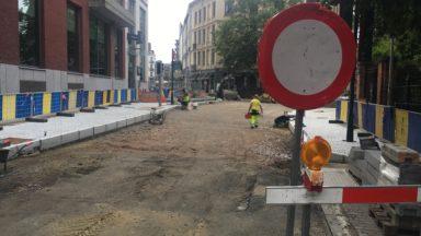 Etterbeek : les commerçants de la place Jourdan exapérés par le chantier du semi-piétonnier