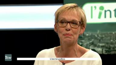 """Karine Lalieux (PS): """"Les relations entre la police et la Plateforme citoyenne sont bonnes"""""""