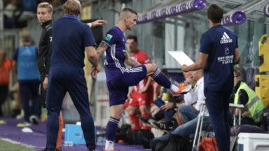 Football: le défenseur anderlechtois Ognjen Vranjes suspendu trois journées
