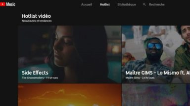 L'application musicale de Youtube débarque en Belgique