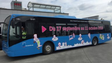 Communales 2018 : voici où le bus BX1 s'arrêtera du 17 septembre au 11 octobre