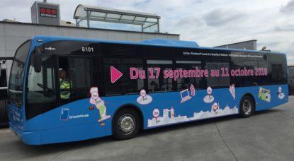 Bus BX1 - Illustration Élections Communales 2018