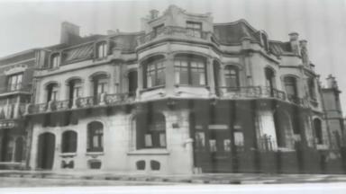 La façade de l'Hôtel Aubecq, réalisée par Victor Horta, exposée au musée Kanal