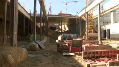 La Stib construit un nouveau dépôt pour ses métros à Erasme : dans les coulisses du chantier