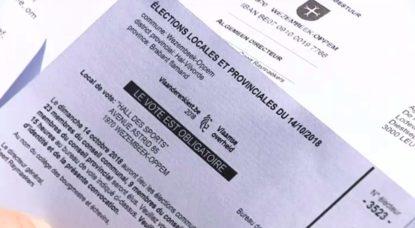 Convocations électorales Communales 2018 en Français - Wezembeek-Oppem
