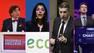 """Une future coalition ? DéFI et Ecolo renvoient le PS et le MR dos à dos, le MR pointe un """"pôle des gauches"""""""