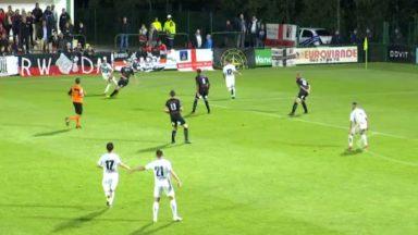 D1 amateurs : le RWDM bute sur le terrain de l'Excelsior Virton (3-0)