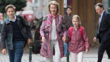 Le prince Gabriel et la princesse Eleonore ont fait leur rentrée à Bruxelles