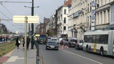 Un piéton renversé sur le Boulevard de Nieuport, ses jours ne sont pas en danger