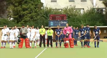 Orée - Beerschot - Match Hockey 09092018