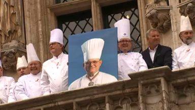 La Ville de Bruxelles et des dizaines de chefs rendent hommage à Pierre Romeyer